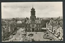 Delft  Markt met Stadhuis