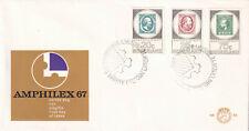 (40218) Netherlands FDC AMPHILEX 1967