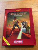 Time Bandit by Microdeal for Commodore Amiga. Original Big Box Version, Works.