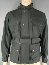 Popper Waist Length Cotton Other Men's Jackets