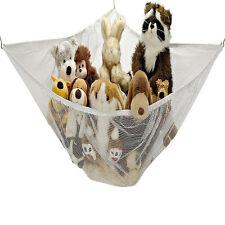 Jumbo Kids Toy Hammock Net Hanging Corner Storage Animals Stuffed Toys Organizer