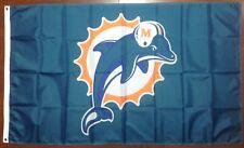 Miami Dolphins 3'x5' Flag Free Shipping From North Carolina
