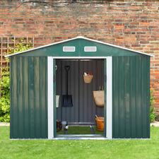 9x6x6ft Garden Storage Shed Tool House Sliding Door Backyard Utility Outdoor