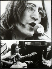 THE BEATLES POSTER PAGE . 1969 JOHN LENNON LET IT BE SESSIONS . 70D