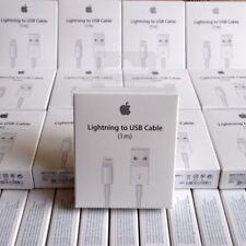 5X LOT - OEM Original Lightning USB Charger Cable For Apple iPhone 6 6s 6 Plus
