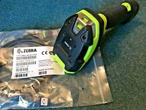 Zebra LI3608-SR ultra rugged barcode scanner,USB,2022 warranty,17% REFUND?