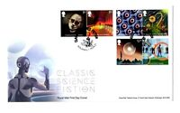 2021 GB CLASSIC SCIENCE FICTION FDC SOLIHULL *NICE* FIRST DAY COVER 15.4.21