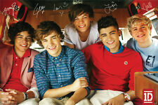 ONE DIRECTION BRITISH BOY BAND MUSIC POSTER 24x36