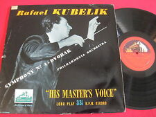 RAFAEL KUBELIK - SYMPHONY NO 4 DVORAK - HMV ALP 1064 - UK MONO PRESS