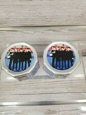 Apple Corps 2006 The Beatles Drum Shaped Salt And Pepper Shakers - Plus 2 pens