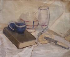 Roger FORISSIER (1924-2003) HsT de 1955 Nouvelle Ecole de Paris Jeune Peinture