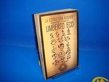 Libro LA ESTRUCTURA AUSENTE  Umberto Eco