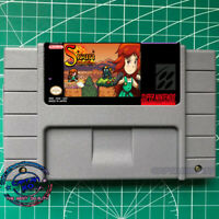 Sicari Remastered  SNES Video game  USA Version