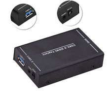 USB 3.0 HDMI Video Capture HD Recording Box For PS3 PS4 Camcorder Live Broadcast