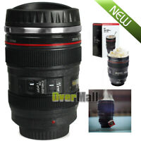 24-105 Camera Lens Coffee Mug Photo Coffee Cup Stainless Steel Travel Thermos