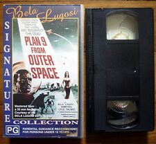 PLAN 9 FROM OUTER SPACE CEL Entertainment PAL VHS Video Mona McKinnon