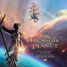 TREASURE PLANET CD SOUNDTRACK BRAND NEW SEALED