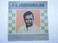 T M SOUNDERARAJAN CARNATIC TAMIL VOCAL 1963 RARE LP CLASSICAL INSTRUMENTAL VG+