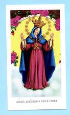 SANTINO  MARIA SANTISSIMA DELLA LIBERA  IMAGE PIEUSE - HOLY CARD SANTINI