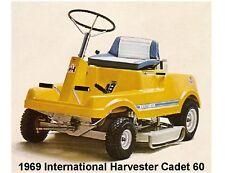 1969 International Harvester Cadet 60 Tractor Refrigerator / Tool Box Magnet