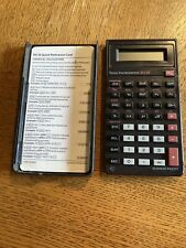 Texas Instruments BA-35 Business Analyst Calculator with Cover & Reference Card