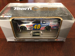 2002 Jimmie Johnson Power of Pride Rookie car 1:64 Team Caliber Owners Series HO