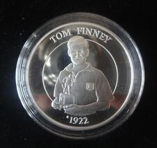 1996 1OZ SILVER PROOF COIN MEDAL + COA EURO 96 FOOTBALL TOM FINNEY ROYAL MINT