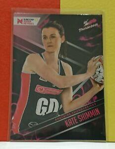 2019 Suncorp Super Netball - Trading Card - Kate Shimmin - Base 06