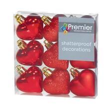 Decoración de Navidad Premier color principal rojo