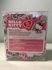4 Boxes Hello Kitty Stickers 500 Foam Stickers Sanrio Pink Valentines - 2000 Ct.