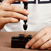 Bohrmaschine Handbohrmaschine Handbohrer & 10 Spiralbohrer Bohrer 0.3-3.2mm X7Z5