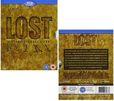 LOST 1-6 (2004-2010) COMPLETE TV Series Seasons - NEW Eu Region B BLU-RAY not US