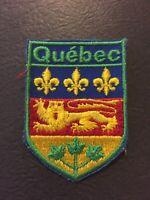 Patch, Québec Canada Sew On Patch PB21
