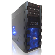 6 Monitor Stock Trading Computer Desktop Quad Intel Core i7 7700K 32GB RAM