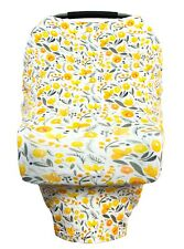 Little Leo Prem 5-1 Baby Car Seat Cover, Nursing, Stroller, or High Chair Cover