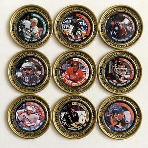 1997-98 Katch Medallions/Discs (GOLD version) U-Pick -Complete Your Set