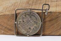 3 Mark 1911 J Hamburg Silber Münze gefasst als Anhänger Länge 64,5mm Silber 900