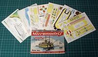 "1950s Vintage Original Micromodels S6 The Showboat ""Cotton Blossom"" 1st Ed 2/6"