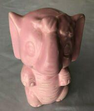 """Pink 5"""" Elephant Figurine"""