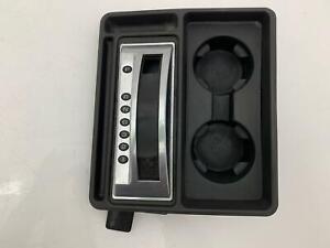 Gear Shifter Selector Bezel Trim Cupholder 15137654 OEM Hummer H2 SUV SUT 03-07
