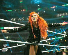 WWE BECKY LYNCH HAND SIGNED AUTOGRAPHED 8X10 PHOTOFILE PHOTO WITH PROOF & COA 4