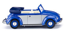 Wiking 079404 VW Beetle 1200 Cabriolet - Blue/Silver 1:87 (H0)