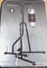 Hyper Extension Sit up Punching Bag Speed Ball Boxing Station Stand + Bags NEW