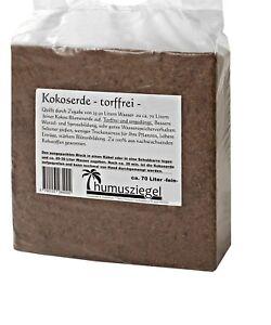 70 Litre Coconut Coir Soil, Potting Compost for Fruits, Herbs, Vegetables NEW
