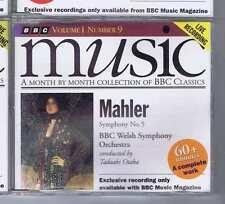BBC WELSH SYMP ORCH / OTAKA Mahler BBC MUSIC CD 1993 mm109