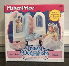 DRESS UP VANITY SET Fisher Price DREAM DOLLHOUSE Loving Family  # 4624