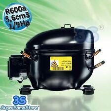 3S MOTORE Compressore FRIGO gas R600A 5,6 cc SECOP ACC HKK55AA LBP 1/9Hp R600