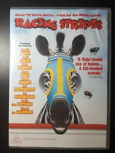 Racing Stripes DVD Kids Movie Horse - REGION 4 AUSTRALIA