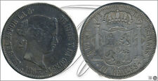 España - Monedas Isabel II- Año: 1863 - numero 00470 - 10 Reales 1863 Madrid Ag