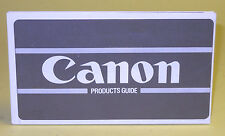 """Original(!) """"Canon Products Guide"""" May 1980  in extremely good condition"""